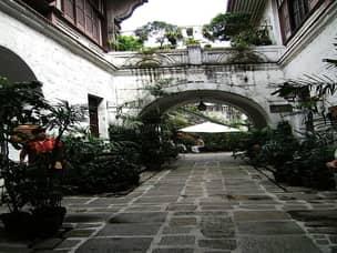 Casa Manila courtyard