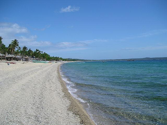 Laiya Beach in Batangas