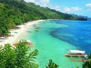 Beach in Sipalay
